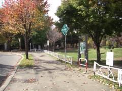 神社付近。2008年10月撮影
