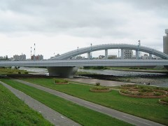 幌平橋。2003年8月撮影